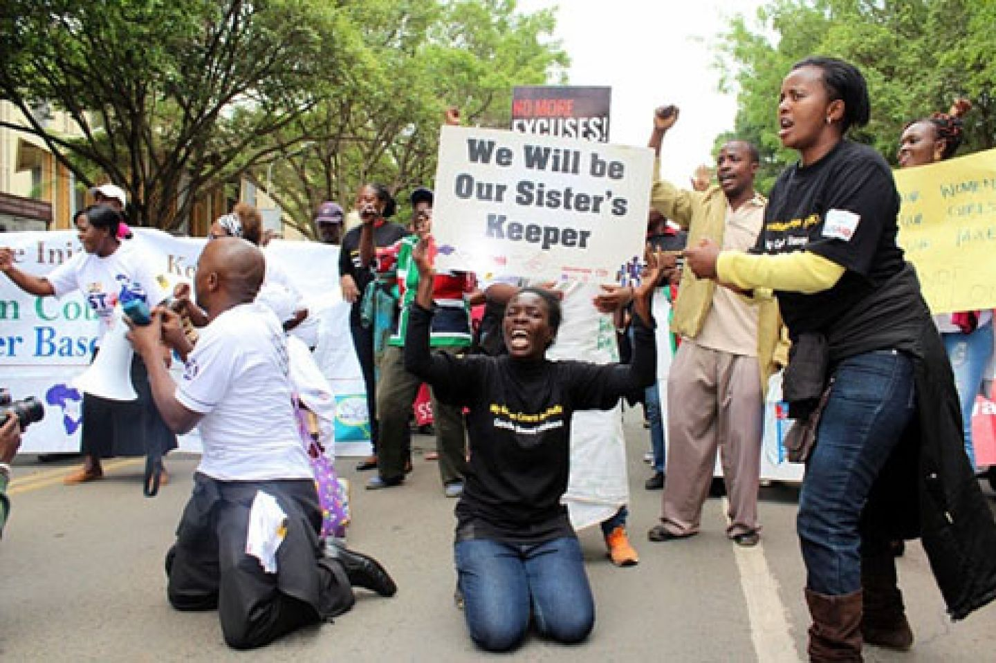 Sexual harassment protests in Africa