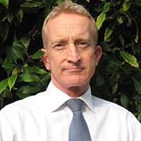 portrait of Nigel Waddington