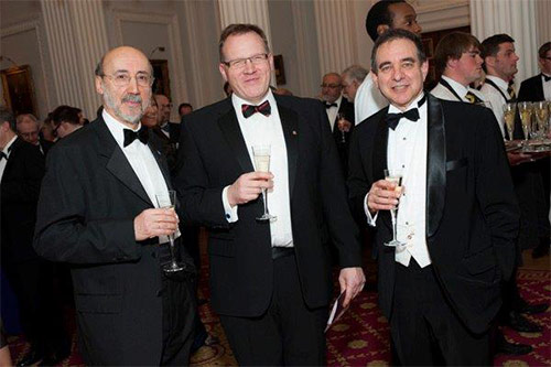 Guests at the Vice Chancellor's Dinner 2012