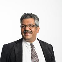 portrait of Professor Cedric D'Mello