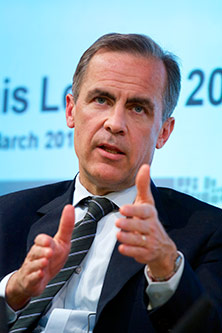 Mark Carney, Governer of Bank of England