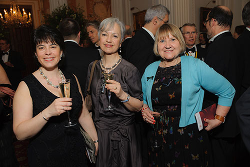 Guests at Chancellor's Dinner 8
