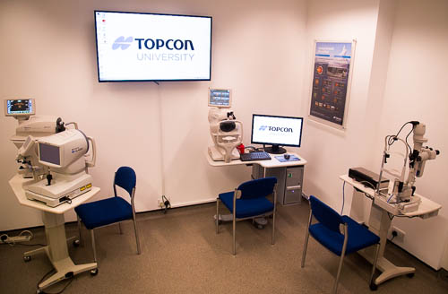 Topcon University Optometry suite