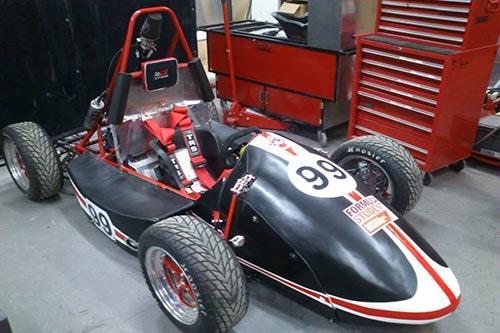 Formula Student car 2013