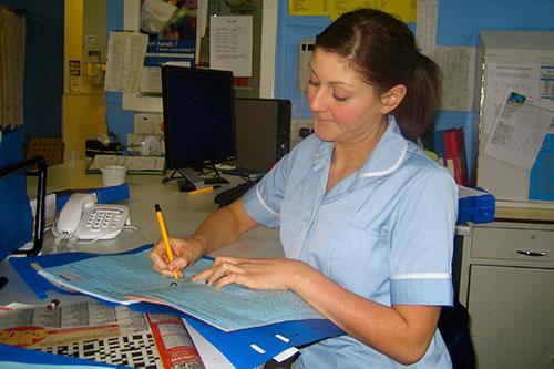 Staff nurse