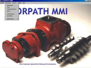 Screenshot from the SCORPATH software