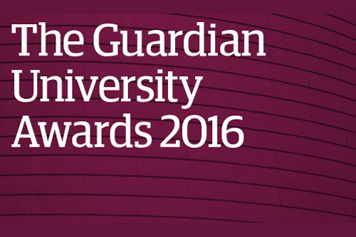The Guardian University Awards 2016