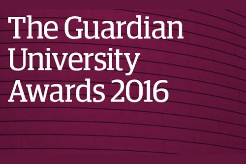 The Guardian University Awards 2016