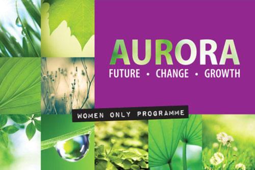 Aurora, Future, Change, Growth, women only programme