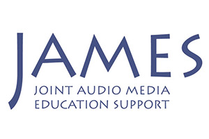 logo of James - Joint Audio Media Education Support