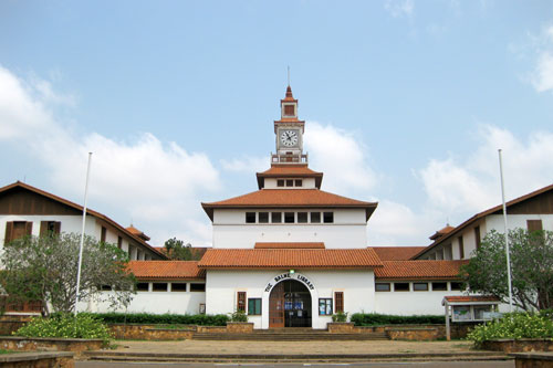 Badme Library of University of Ghana