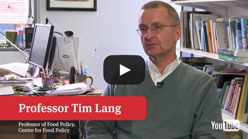 Tim Lang Director of Food Policy discusses the course