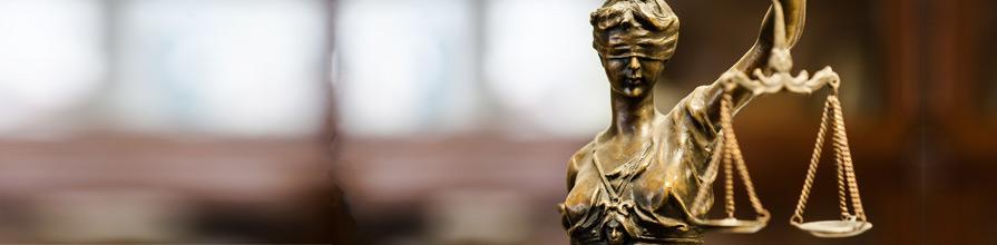 Statue of Justice. Dr Abenaa Owusu-Bempah
