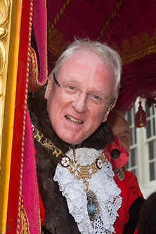 Lord Mayor of London 2016 to 2017 Alderman Dr Andrew Parmley