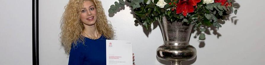 A law school prize winner