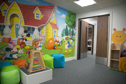 Play area for children at City Sight