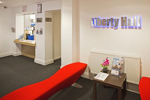 Liberty Halls Reception