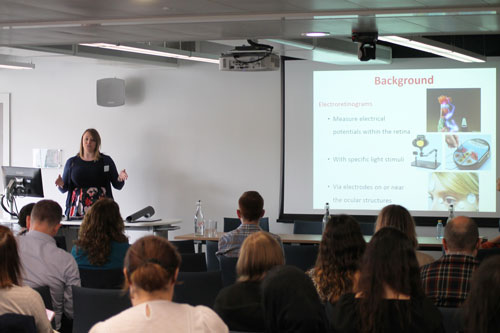 Speaker at the Doctoral Research conference