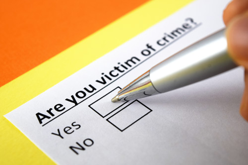 Are you victim of crime? Yes