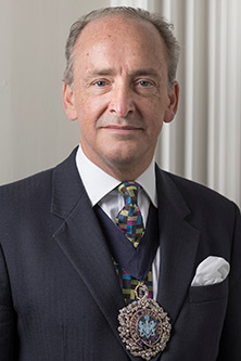 Lord Mayor of London 2017 to 2018 Alderman Charles Bowman