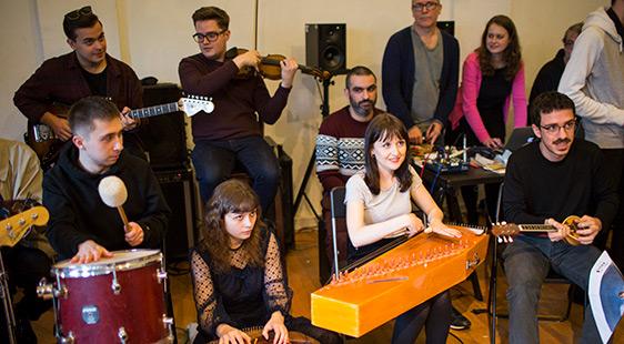 City's Experimental Ensemble performing at IKLEKTIK