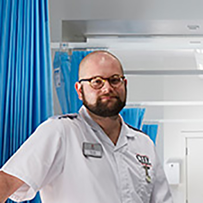 Sean Taylor is a BSc Adult Nursing student