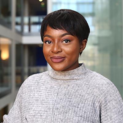 Ezinwanne Onwubiko is a PGDip Child Nursing student