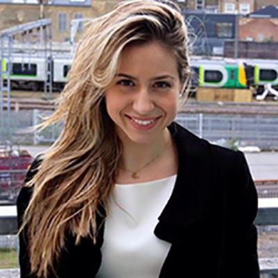 Elli Aidini Antonopoulou smiling