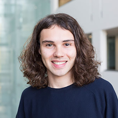 Noah Eckstein smiling