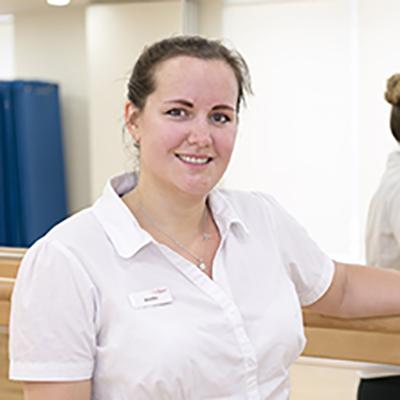 Jen Hughes is a Senior Support Advisor at CitySport