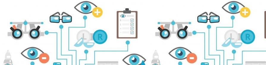 Cochrane Eyes and Vision graphic showing different areas of vision care