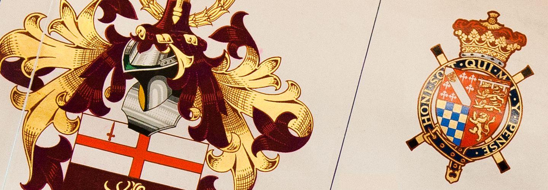 City, University of London logo on charter