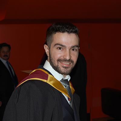 Kemal Ozturna is an alumni ambassador