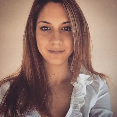 Maria Repouskou is an alumni ambassador