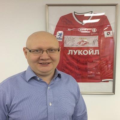 Maxim Sychev is an alumni ambassador