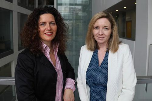 Dr Glenda Cooper and Dr Lindsey Blumell
