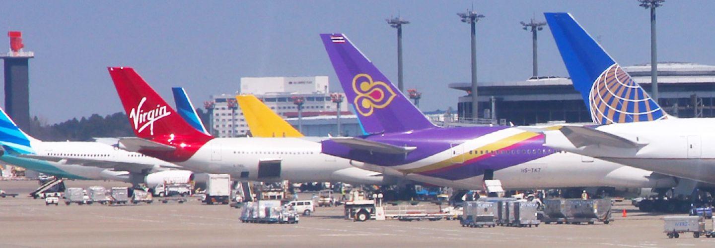 Air travel banner