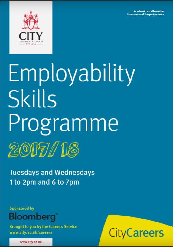 Employability skills programme with old logo