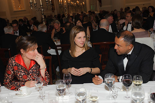 Dinner guests at Chancellor's Dinner 2