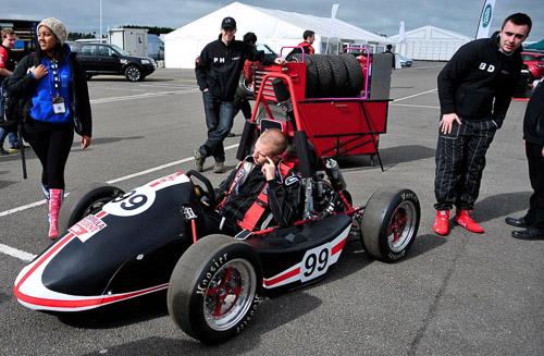 City-racing-car-formula-student-track
