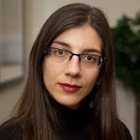 portrait of Dr Angeliki Bogosian