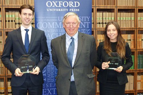 Winners of the City Moot competition