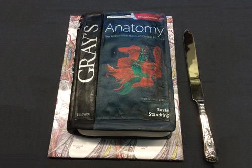Gray's Anatomy cake