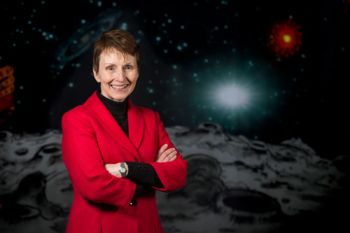 Helen Sharman at the National Waterfront Museum Swansea