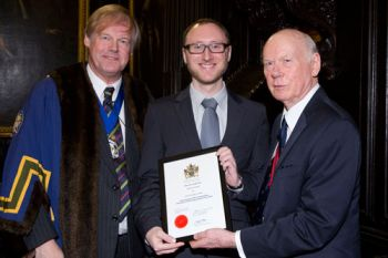 Andrew Lambert awarded a WCIT Outstanding Information Technology Student Prize 2016