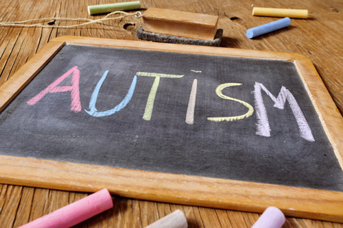 Autism thumb