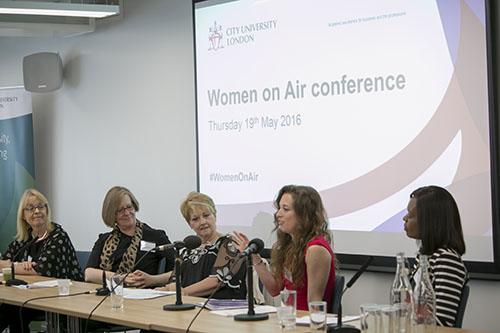Anne Diamond leads panel Women on Air 2016