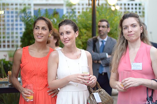 Alumni reception at the British Ambassador's Residence in Athens