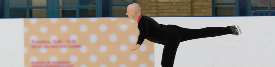 Jamie Richardson Ice Skating