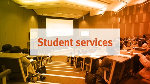 Student Services tour